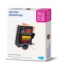 Science Museum Spy Science Secret Message Kit