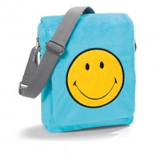 NICI Smiley Blue Shoulder Bag