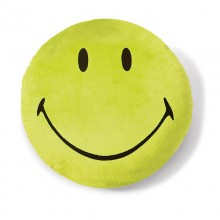 NICI Smiley Green Cushion
