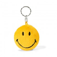 NICI Smiley Yellow Bean Bag Keyring