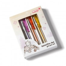 NICI Snow Leopards Glitter Gel Pen