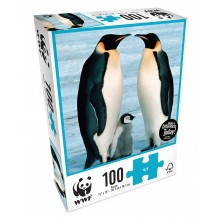 WWF 100 Piece Puzzle - Penguins