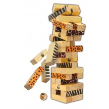 WWF Miombo Tumble Tower Game