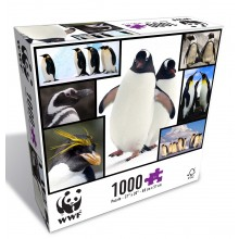 WWF Penguins 1000 Piece Puzzle