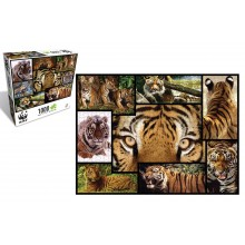 WWF Tiger 1000 Piece Puzzle