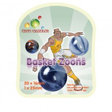 King Marbles Basket Zoons Classic Marbles