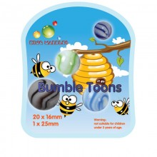 King Marbles Bumble Toons Classic Marbles