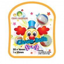 King Marbles Clown Balls Happy Henry Marbles