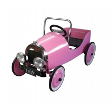 Great Gizmos Pink Classic Pedal Car