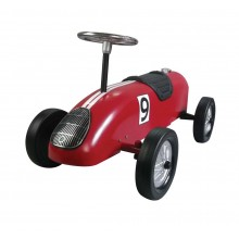 Red Retro Racer Ride On