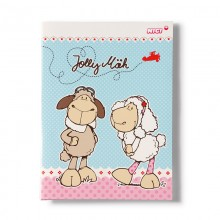 NICI Jolly Dean and Sue A5 Notebook with Message Cards
