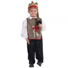 King Tunic and Crown Set - age 3-4