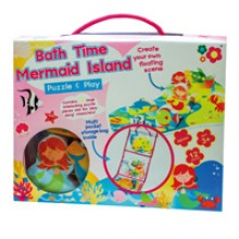 Meadow Kids Mermaid Puzzle and Play Bath Toy