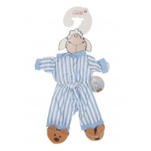 NICI Dress Your Friends Outfit Set Pyjama Blue/White Striped