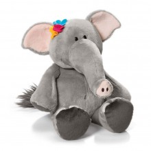NICI Elephant Lady Soft Toy 15cm