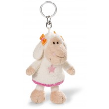 NICI Jolly Amy Sheep Bean Bag Keyring