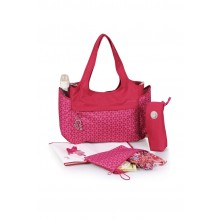 okiedog Khanda Celeb Baby Changing Bag - Ruby Red