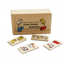 Farm Animal Dominoes