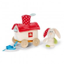 NICI Rabbit Pull Along
