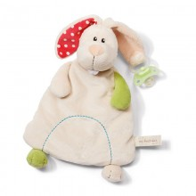 NICI Rabbit Soother with Pocket
