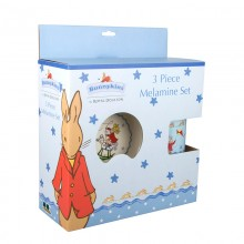 Bunnykins Shining Star 3 piece Melamine Set