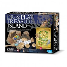 4M Treasure Island Dig and Play