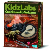4M Kidz Labs Quicksand and Volcano Kit