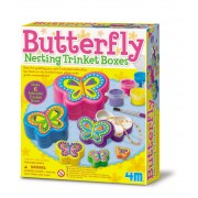 4M Butterfly Nesting Trinket Boxes