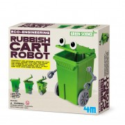 4M Green Science Eco Engineering Rubbish Cart Robot