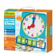 4M Thinking Kits - Tell Time Learning Clock