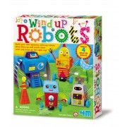 4M Wind Up Robots