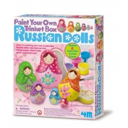 4M Paint Your Own Russian Doll Trinket Box