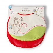 NICI Bear Bib Set (2 bibs)