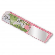 NICI Dapple Grey Horse Ruler with Mirror