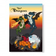 NICI Dragons A5 Notepad