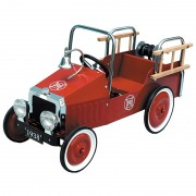 Fire Engine Classic Pedal Car