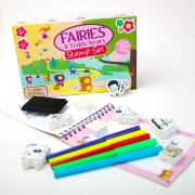 Meadow Kids Mini Fairies and Teddy Bear Stamp Set