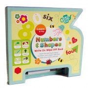 Meadow Kids Numbers and Shapes Wipe Clean Book