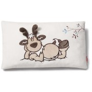 NICI Reindeer Plush Cushion rectangular