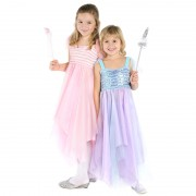 Pink Sequins Fairy Dress - age 4-6