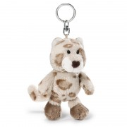 NICI Snow Leopard Boy Bean Bag Keyring