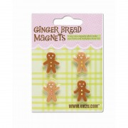 4M2U Ginger Bread Men Magnets