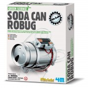 4M Green Science Soda Can Robug