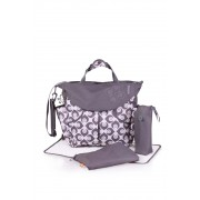 okiedog Damask Sumo Baby Changing Bag - White