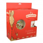 Bunnykins Playing Bunnies 3 piece Melamine Set