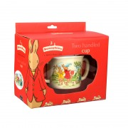 Bunnykins Playing Bunnies Two Handle Cup Set